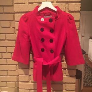 VGUC Classique Entier Deep Pink Jacket Size XS